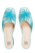 Load image into Gallery viewer, Starburst Mules - Blue