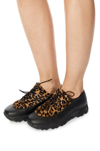 Leopard Haircalf Sneakers