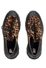 Load image into Gallery viewer, Leopard Haircalf Sneakers