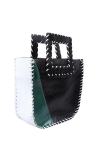 Nwadi Patchwork Leather Mini Tote