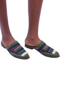 Keffi Half Loafer - Green