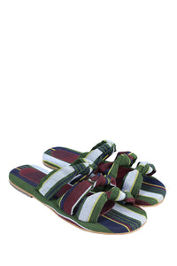 Tinubu Knot Slippers - Green