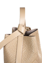 Load image into Gallery viewer, Sibilla Leather Bucket Bag - Beige