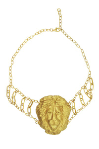 Lion Head Choker