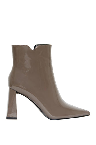 Obsession High Heel Booties - Grey