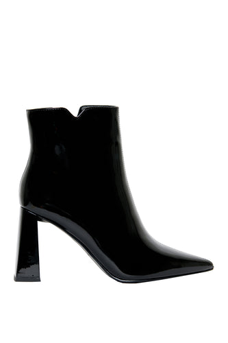 Obsession High Heel Booties - Black