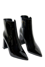 Load image into Gallery viewer, Obsession High Heel Booties - Black