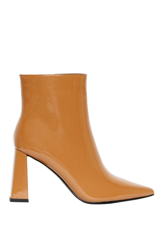 Superiority High Heel Booties - Mustard