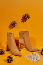 Load image into Gallery viewer, Superiority High Heel Booties - Mustard