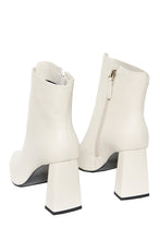 Load image into Gallery viewer, Superiority High Heel Booties - White