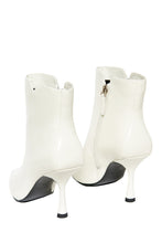 Load image into Gallery viewer, Purpose Kitten Heel Booties - White