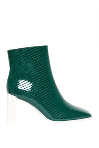 Insanity High Heel Booties - Green