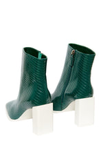 Load image into Gallery viewer, Insanity High Heel Booties - Green