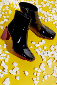 Insanity High Heel Booties - Black