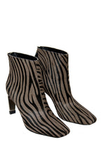 Load image into Gallery viewer, MyMadness High Heel Booties - Grey Zebra