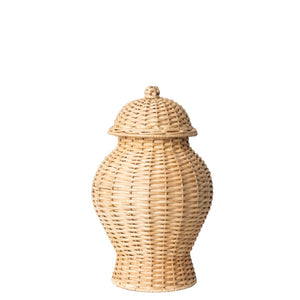 Wicker Ginger Jar