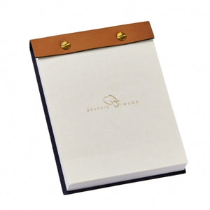 Tan Desk Notepad