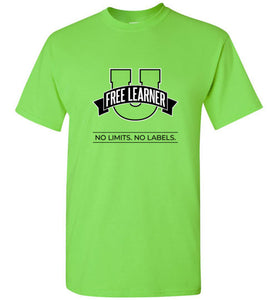 Free Learner U Colored Shirts