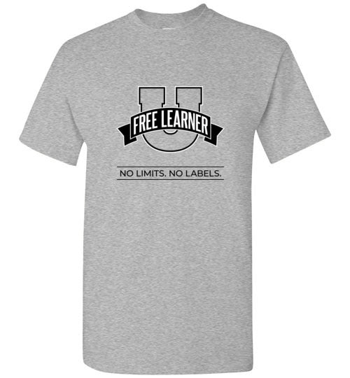 Free Learner U Logo Shirt Sporty Grey