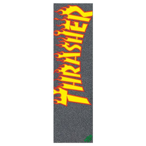 Lija MOB Thrasher Yellow Orange Flame 9 Inch