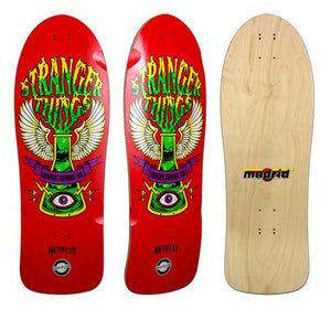 Tabla Madrid Skateboards x Stranger Things 'Hawkins Lab'