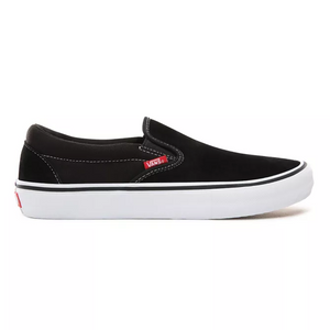 Zapatillas Vans Slip On Pro Black/White