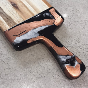 Resin Art Cheeseboard - Small Paddle