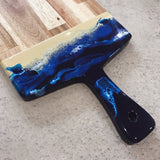 Resin Art Cheeseboard - Medium Paddle