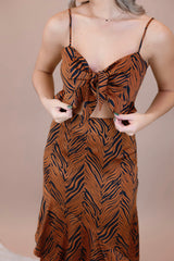 Safari Girl Ruffle Set