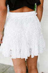 Lace Around Town Skort