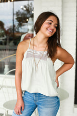 Linley Lace Tank Top