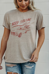 Keep Rollin' With It Graphic T-Shirt