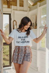 No Plans For The Weekend T-Shirt