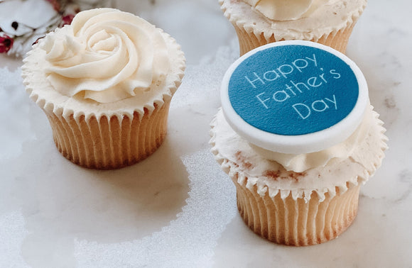 Father's Day Cake and Cupcake Decorations