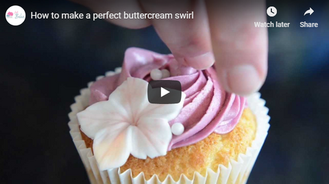 How to make a perfect buttercream swirl