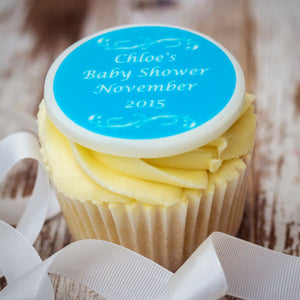 Baby Shower Cupcake Decorations - Cake and Cupcake Toppers - Just Bake