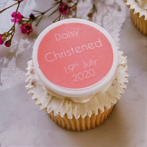 Christening Cupcake Decorations