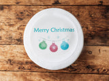Christmas Bauble Cake Topper