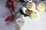 Corporate Logo Cupcake Decorations
