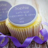 Gin Cupcake Decorations - Cake and Cupcake Toppers - Just Bake