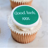 Good luck cupcake decorations