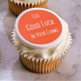 Good Luck In Your Exams Cupcake Decorations