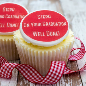 Graduation Cupcake Decorations - Cake and Cupcake Toppers - Just Bake