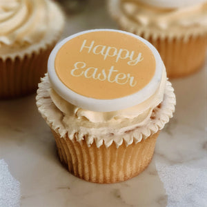 Happy Easter Cupcake Decorations