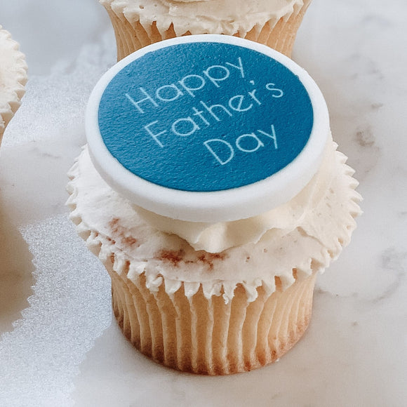 Father's Day Cupcake Decorations