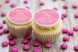 Hen Party 'Let's Drink Champagne' Cupcake Decorations
