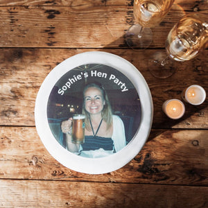 Hen Party Photo Cake Topper | Hen Party Gifts