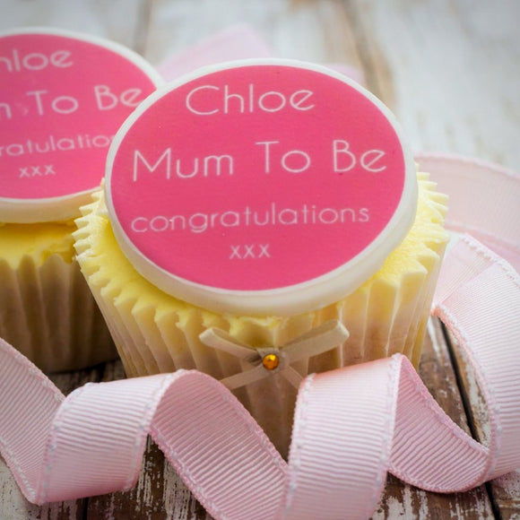 Mum To Be Cupcake Decorations - Cake and Cupcake Toppers - Just Bake