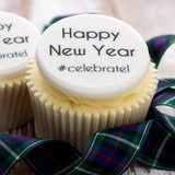 New Year Cupcake Decorations - Cake and Cupcake Toppers - Just Bake