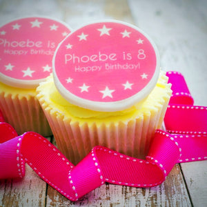 Birthday Girl Cupcake Decorations - Cake and Cupcake Toppers - Just Bake
